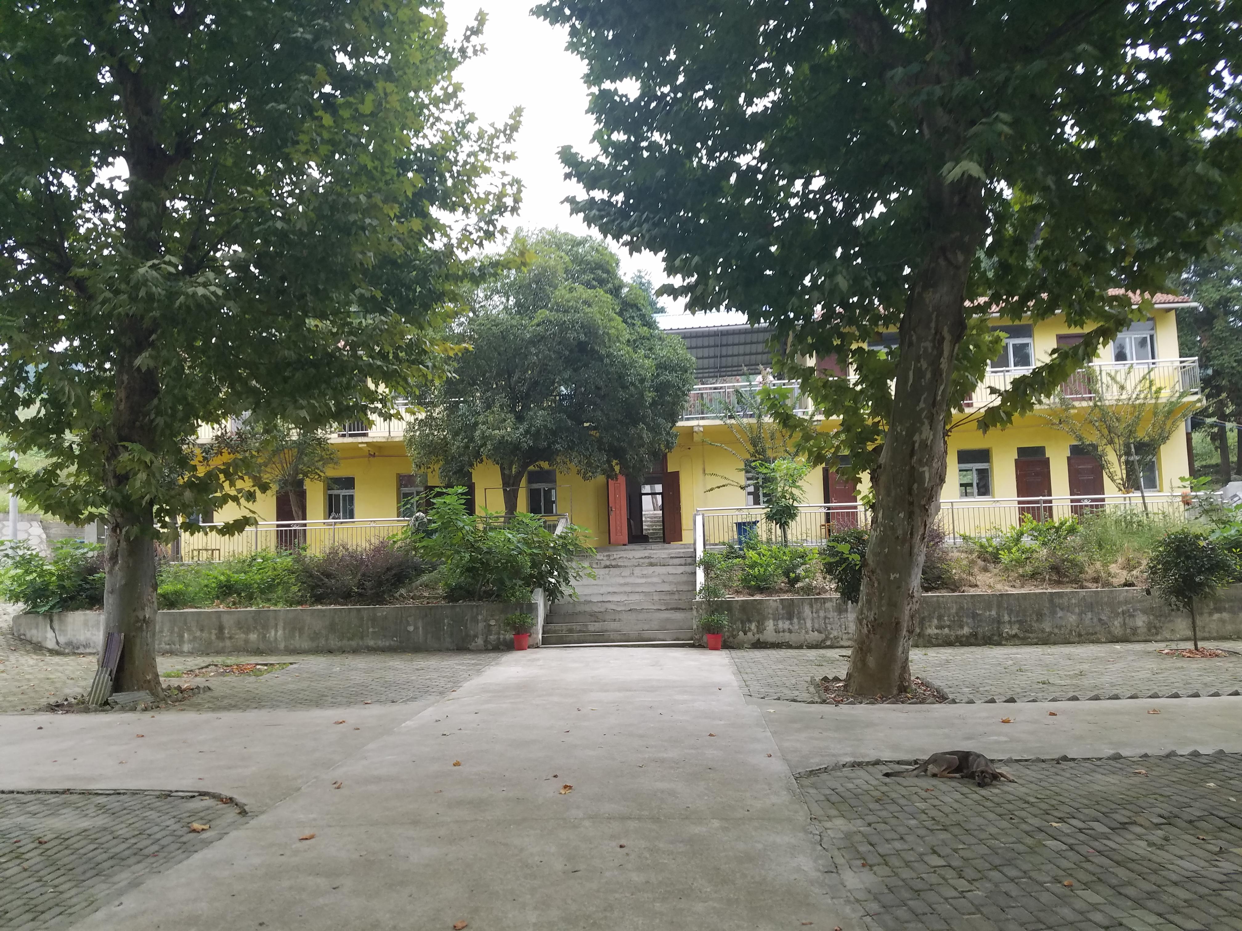 武汉黄陂区上古寺村闲置农房